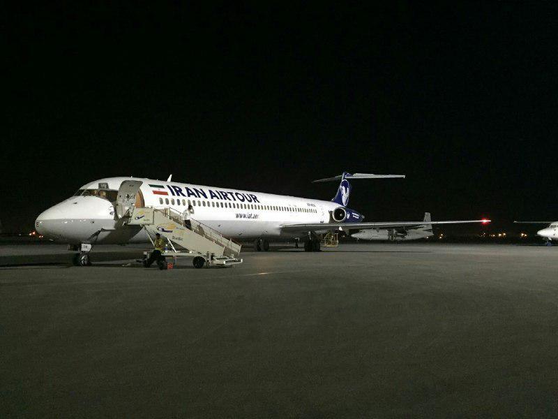 پروازهاي فرودگاه بين المللي اهواز از سر گرفته شد