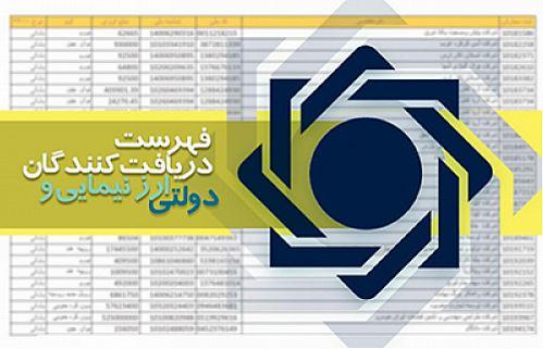 به روزرساني فهرست دريافت کنندگان ارز نيمايي و دولتي