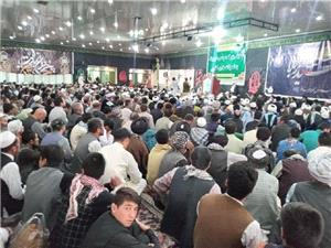 نشست بزرگ مردمی برای تحقق خواستههای شیعیان افغانستان از طالبان