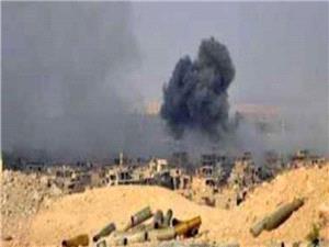 اهتزاز پرچم سوریه در طفس/ انفجار مهیب در البوکمال/ حمله پهپادی آمریکا به ادلب